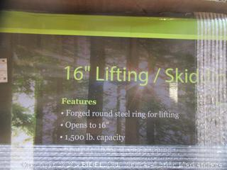 Lifting and Skidding Tongs