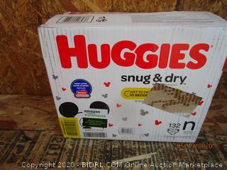 Huggies Diapers Size N