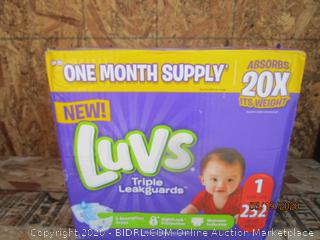 Luvs Diapers Size 1