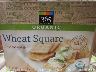 Organic Wheat Square Crackers