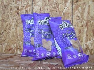 Vegan Rob's Cheddar Puffs