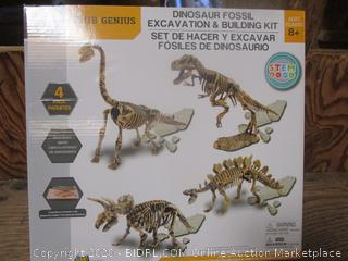 Dinosaur Fossil Excavation & Building Kit (2 Per Lot)
