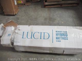 Lucid  Memory Foam Hybrid Mattress  full