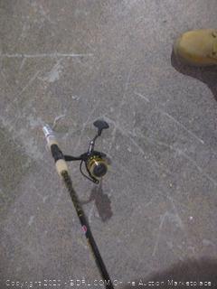 Fishing Rod and Reel  damaged
