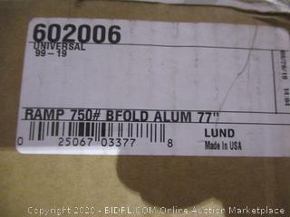 """Ramp  Bifold Aluminum 77"""""""