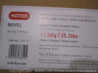 Keter Novel Storage Desk Box