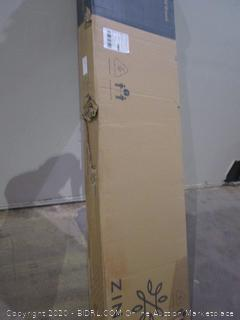 Zinus King 12 inch Deluxe Solid Wood Platform Bed with Headboard