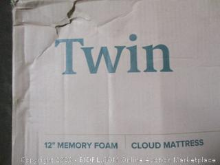 "Zinus 12"" Memory Foam Mattress  Twin"