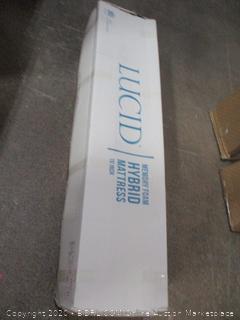 Lucid Memory Foam Hybrid Mattress  Queen