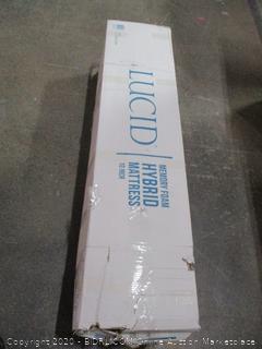 Lucid Memory Foam Hybrid Mattress 10 inch Queen