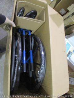 Drive  Blue Streak Wheelchair