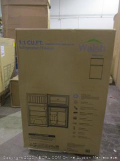 3.1 Cu Ft Walsh Refrigerator     See pictures