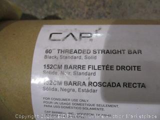 """CAP 60"""" Threaded Straight Bar"""