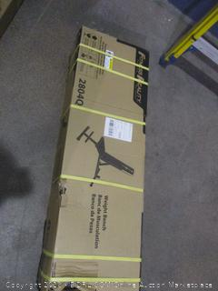 Fitness Reality weight Bench new