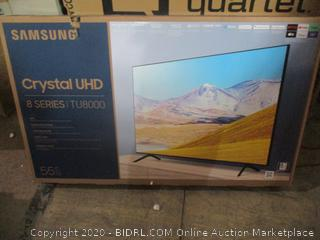 "Samsung Crystal UHD  8 Series 55"" tested, new see pictures"