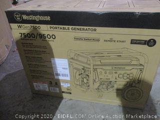 Westinghouse Portable Generator See Pictures