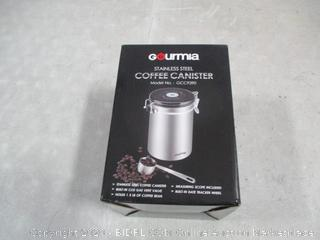 Gourmia Stainless Steel Coffee Canister