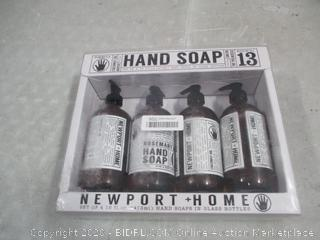 Hand Soap possibly damaged