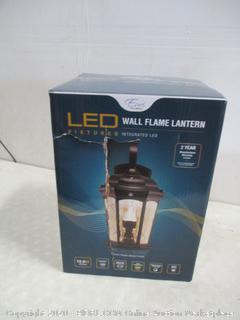 LED Wall Flame Lantern