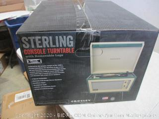 Crosley Sterling Console Turntable with removable legs
