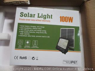 Solar Light Private Street Lamp without Electricity