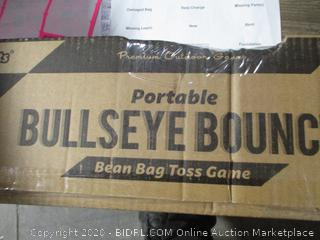 Portable  Bullseye Bounce Bean Bag Toss Game