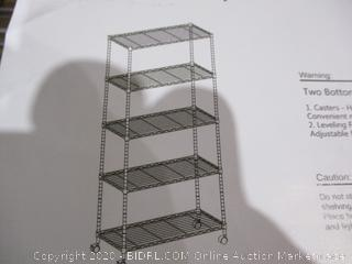 Holly Home Storage Shelf with wheels