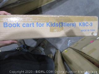 Book Cart for Kids 3 Tier