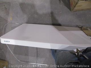 Lifetime  4 Foot Adjustable Folding Table