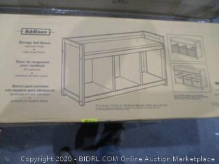 Addison Storage Hall Bench