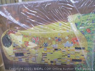 Gustav Klimt the Kiss gallery Wrapped