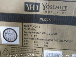 Grande Hotel Wall Clock