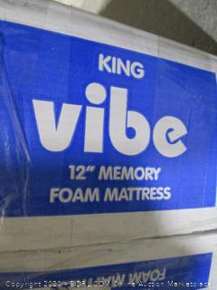 "Vibe King 12"" Memory Foam Mattress"
