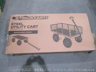Gorilla Carts Steel Utility Cart