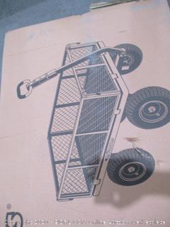 Gorilla Carts Steel Utility Cart