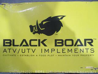 Black Boar ATV/UTV Implement Lift  with toolbar for mounting implements