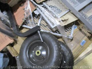 Gorilla Cart Steel Utility Cart  possibly missing pieces