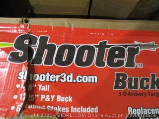 Shooter Buck damaged