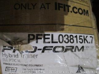 ProForm Hybrid Traaier Elliptical