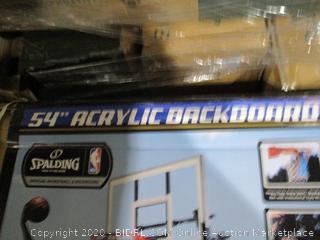 """54 """" Acrylic Backboard"""