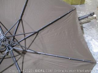 "Casun Garden 10"" Patio Crank Hanging Umbrella  see Pictures"