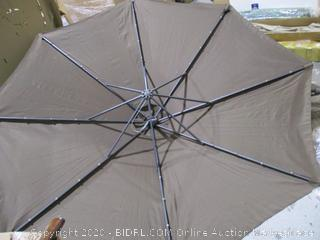 "Casun Garden 10"" Patio Crank Hanging Umbrella  see Pictures"