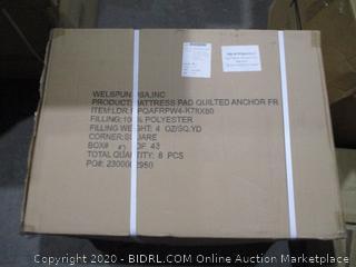 Box Lot Mattress Pad Quilt