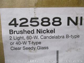 2 Light Candlelabra B-type Light