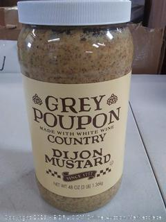 Grey Poupon 48 oz Dijon mustard