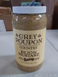 Grey Poupon Dijon mustard 48  oz
