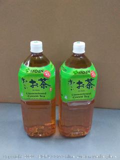 Ito en unsweetened green tea X2