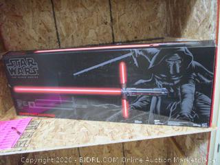 Star Wars- The Black Series Kylo Ren Force FX Lightsaber