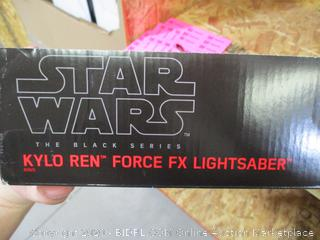 Star Wars- The Black Series Kylo Ren Force FX Lightsaber