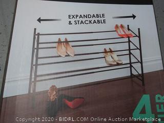 bino 4 tier shoe rack